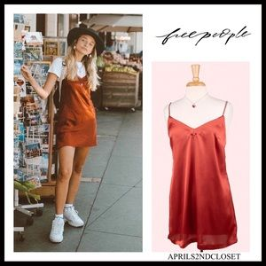 FREE PEOPLE BOHO SLIP MINI DRESS A3C